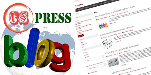 Major update of CS-Press v4 - WordPress style blog addon for CS-Cart has been released!