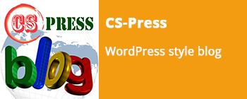 Introducing CS-Press WordPress style blog - addon for CS-Cart