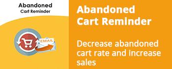 Major update of Abandoned cart Reminder - addon for CS-Cart has been released!