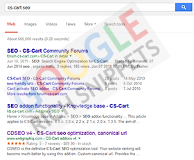 cs-cart search engine optimization