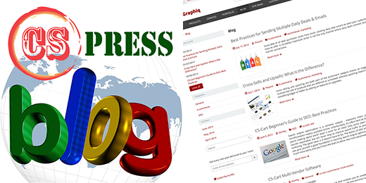 cs-press blog for cs-cart