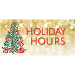 Holiday Working Hours - Christmas and New Year 2018